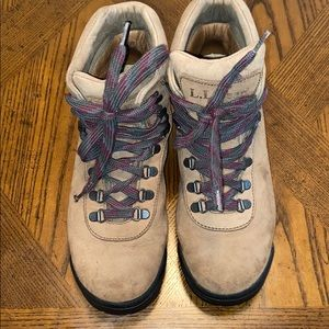 L.L. Bean Men's Suede Leather Vibram Boots